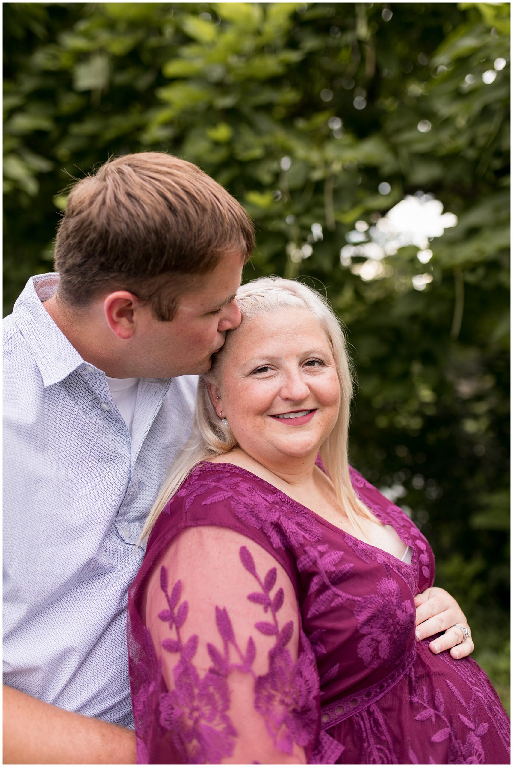 Morrow's Meadow maternity session in Muncie Indiana