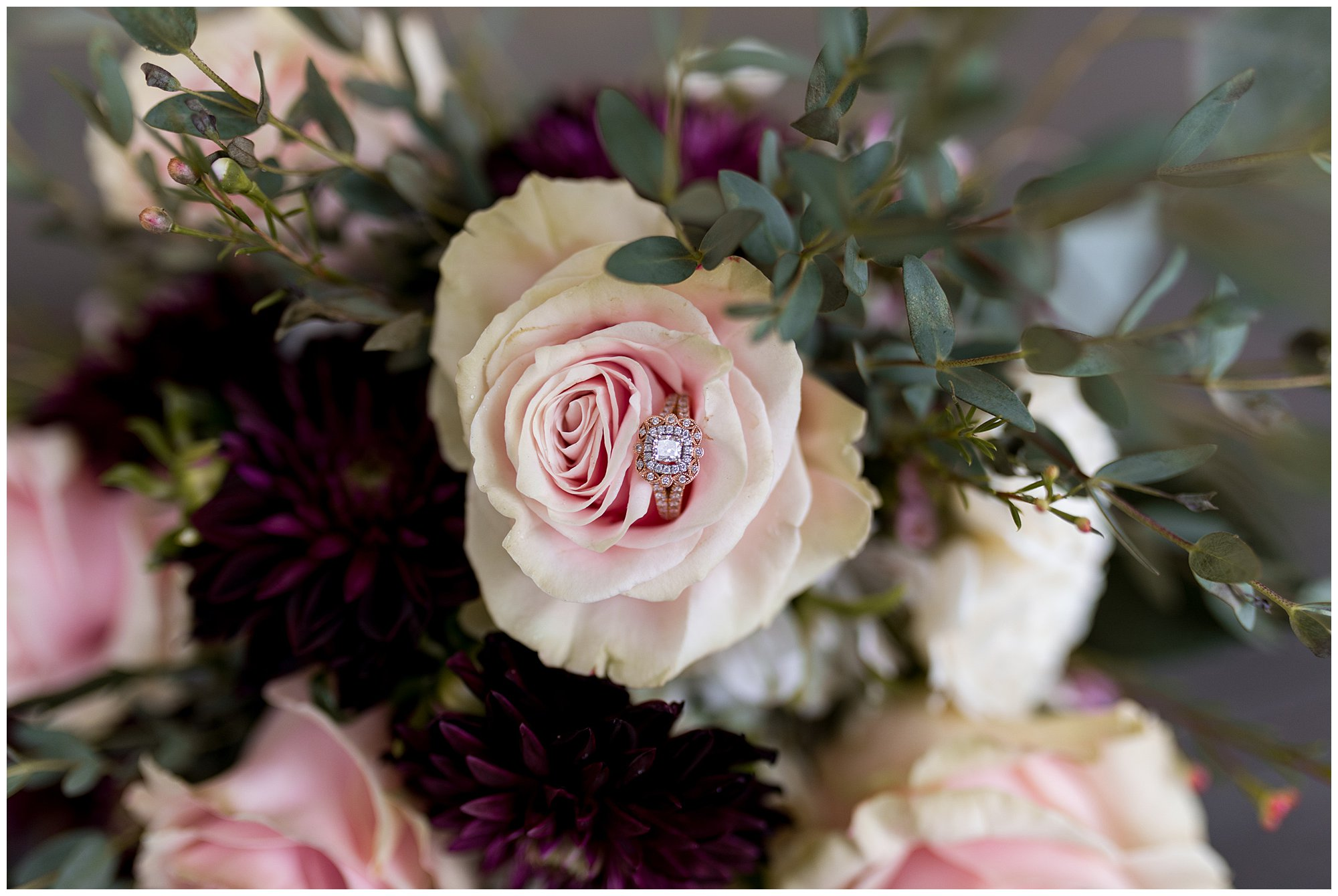bride's detail photos before Fremont Indiana wedding