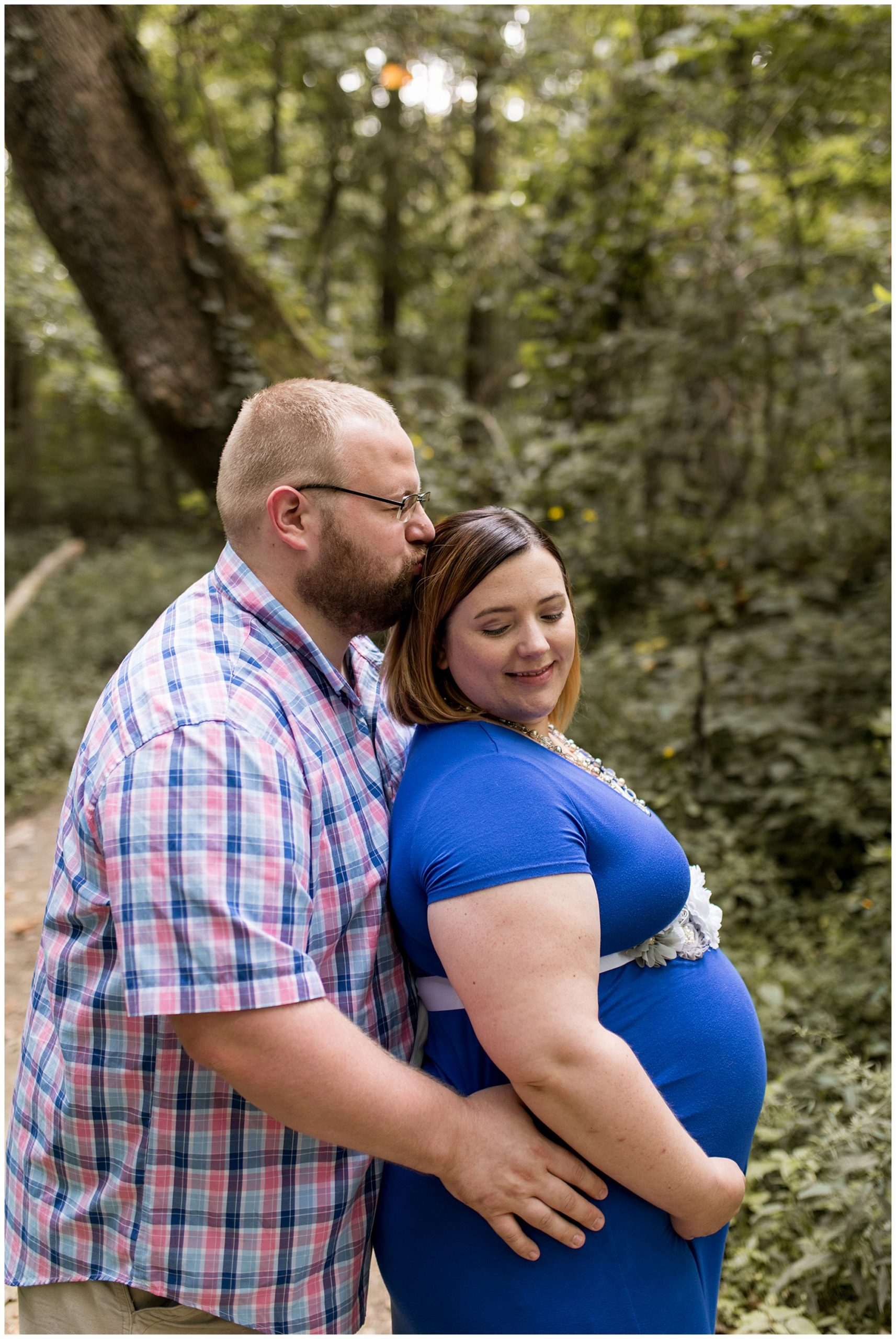 Kokomo Indiana maternity session at Jackson Morrow Park