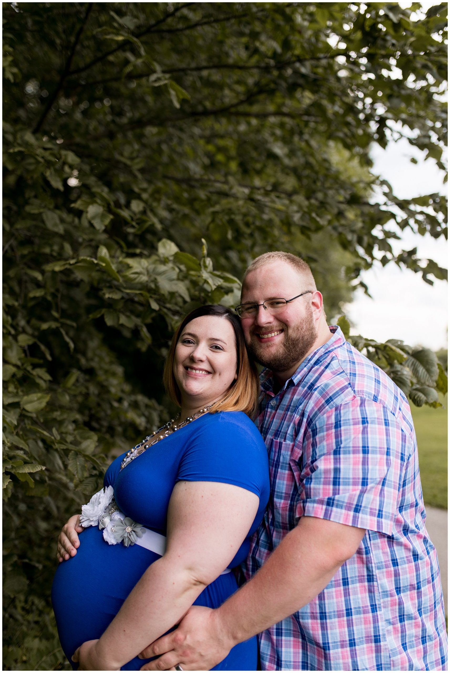 Jackson Morrow Park maternity session in Kokomo Indiana