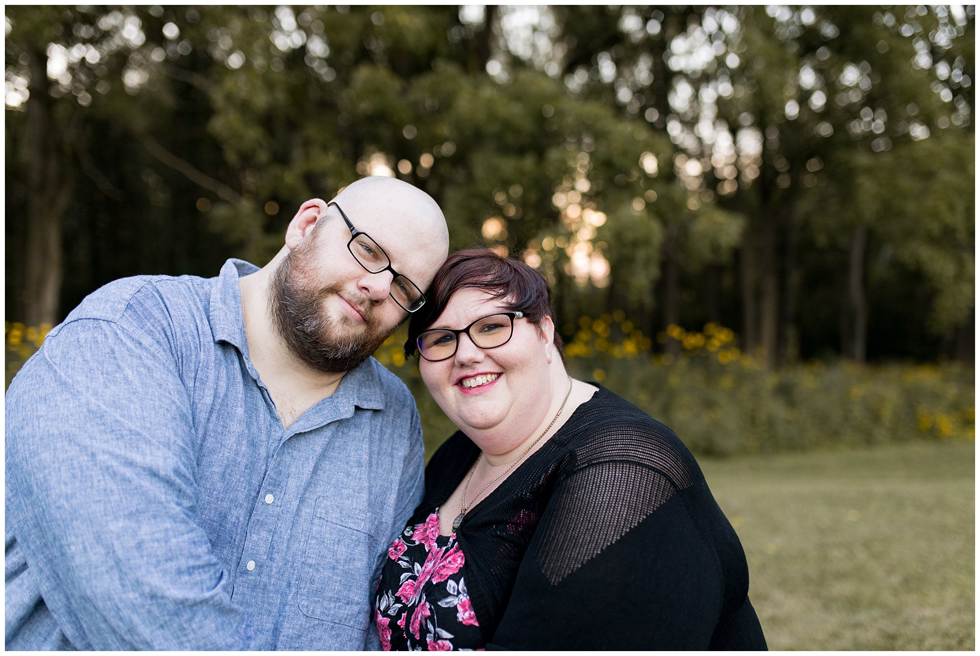 Fort Harrison State Park engagement session in Indianapolis, Indiana