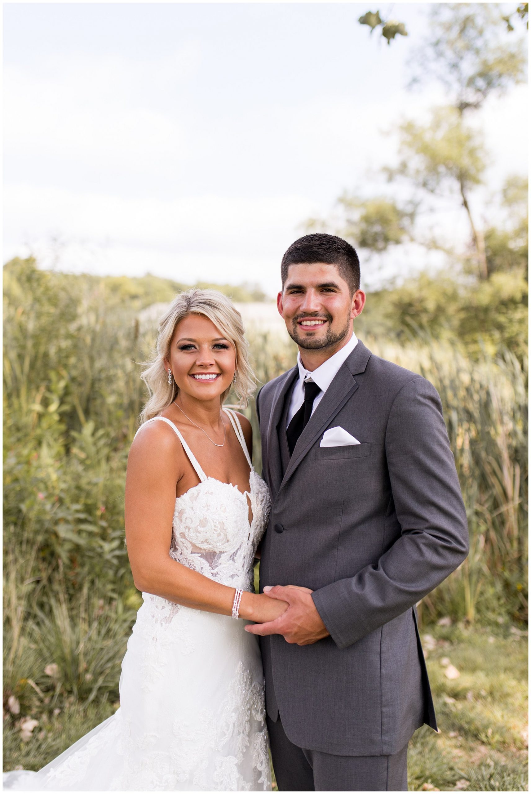 bride and groom portraits at Union 12 wedding venue in Fort Wayne