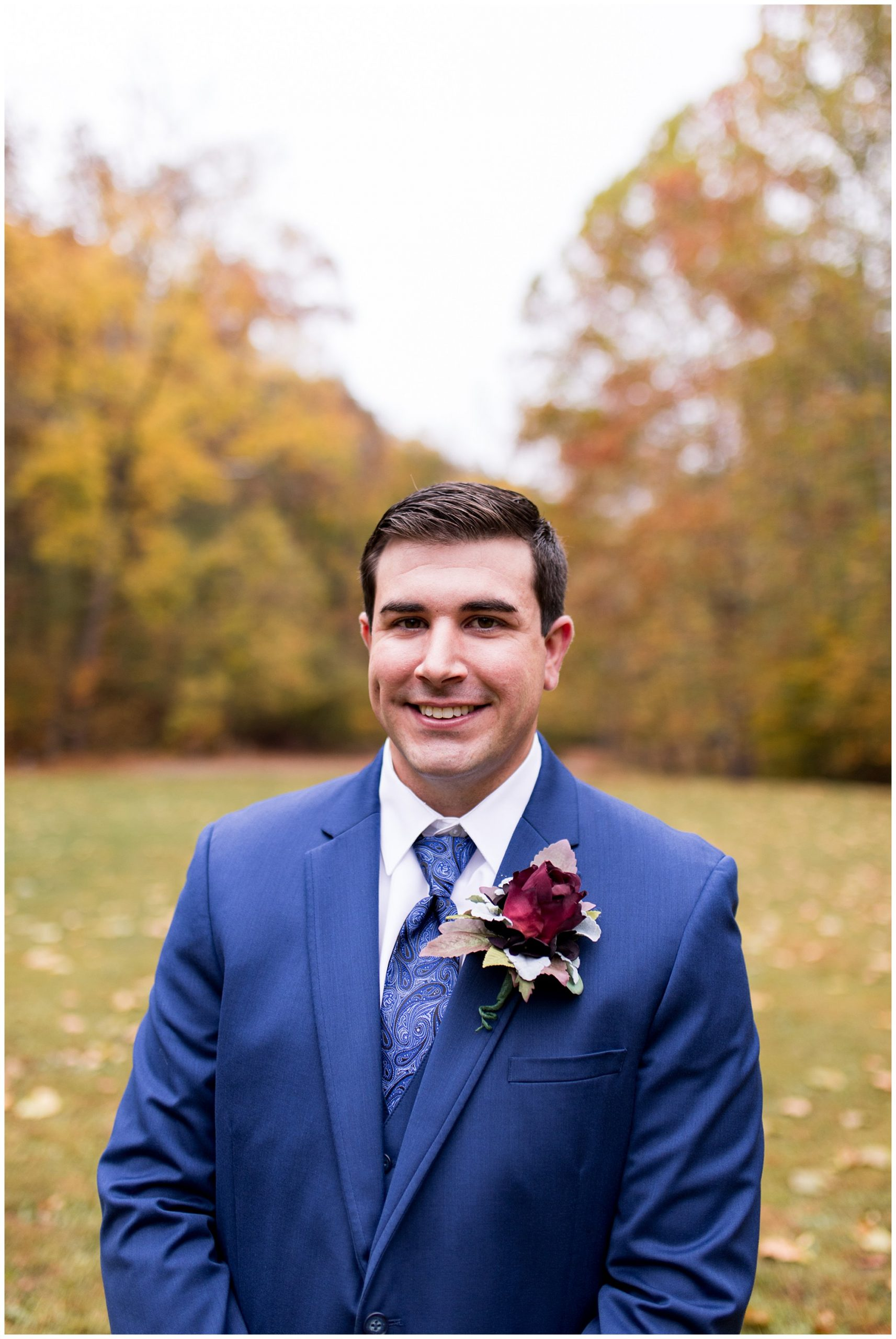 groom portraits at Story Inn after wedding ceremony