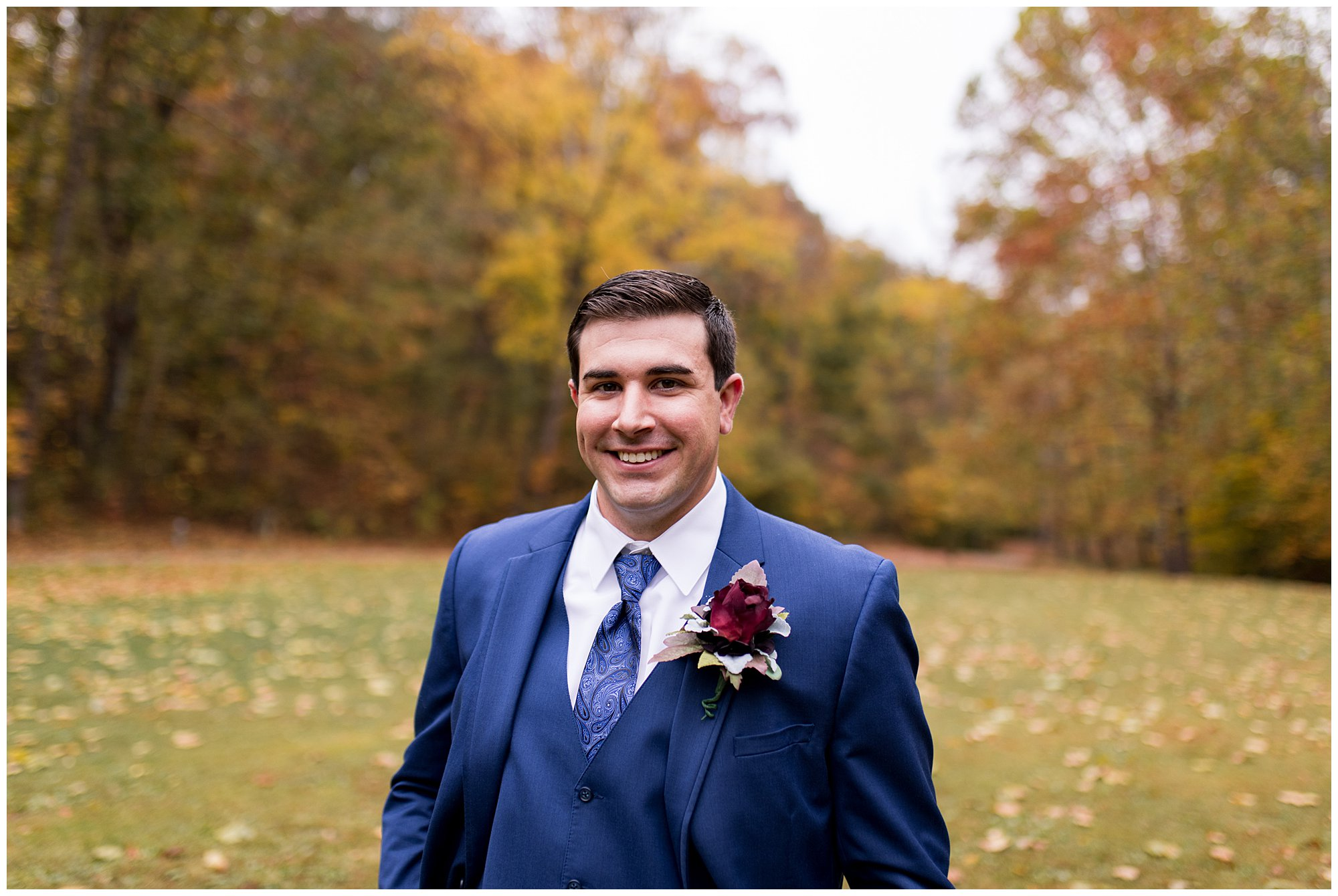 groom wedding portraits at Story Inn in Nashville Indiana