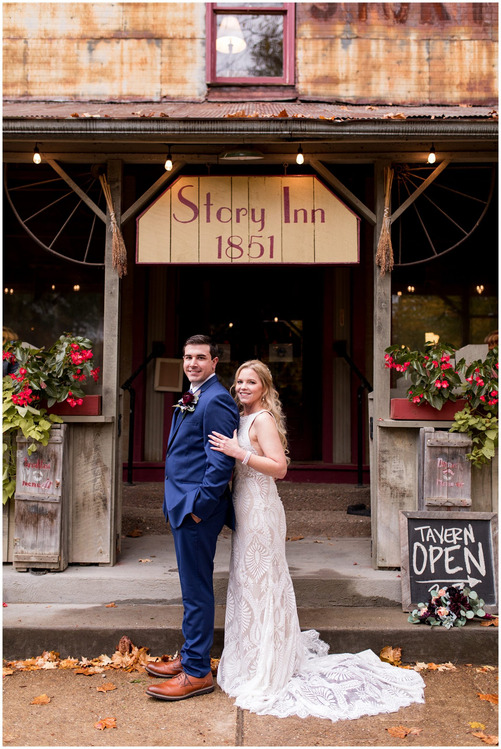 Story Inn elopement in Brown County