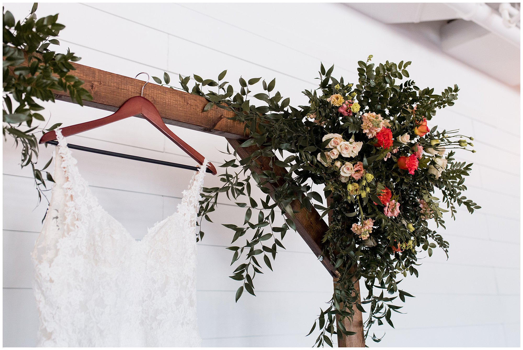 Archway florals by The Flower Boys at BASH venue in Carmel