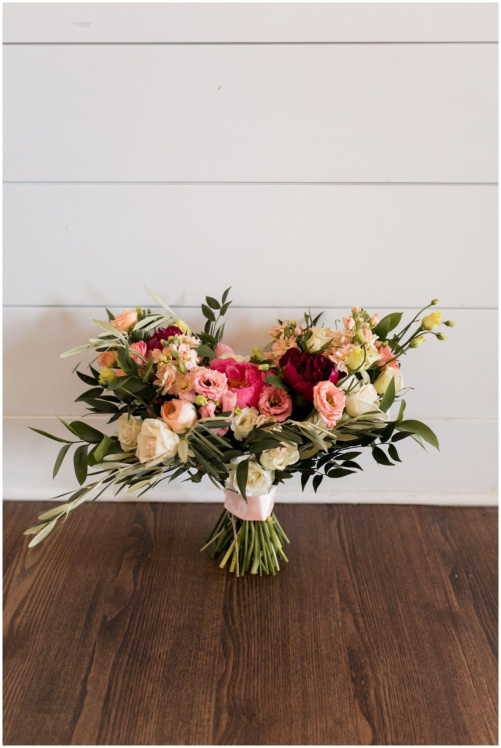 The Flower Boys bridal bouquet for Carmel Indiana wedding