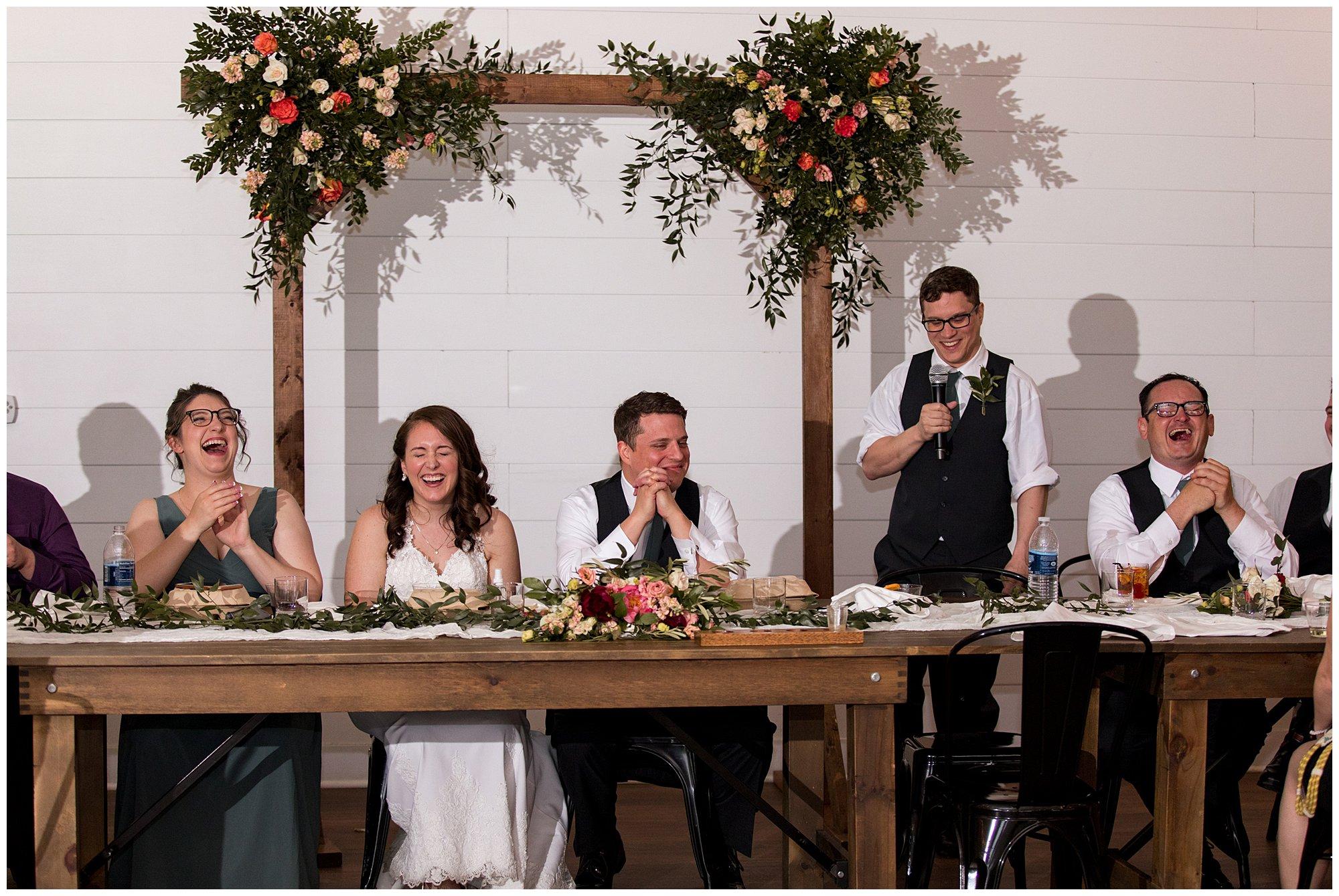 BASH wedding reception
