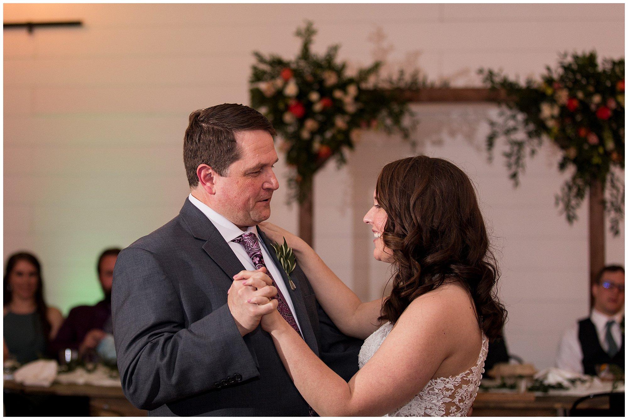 BASH wedding reception in Carmel