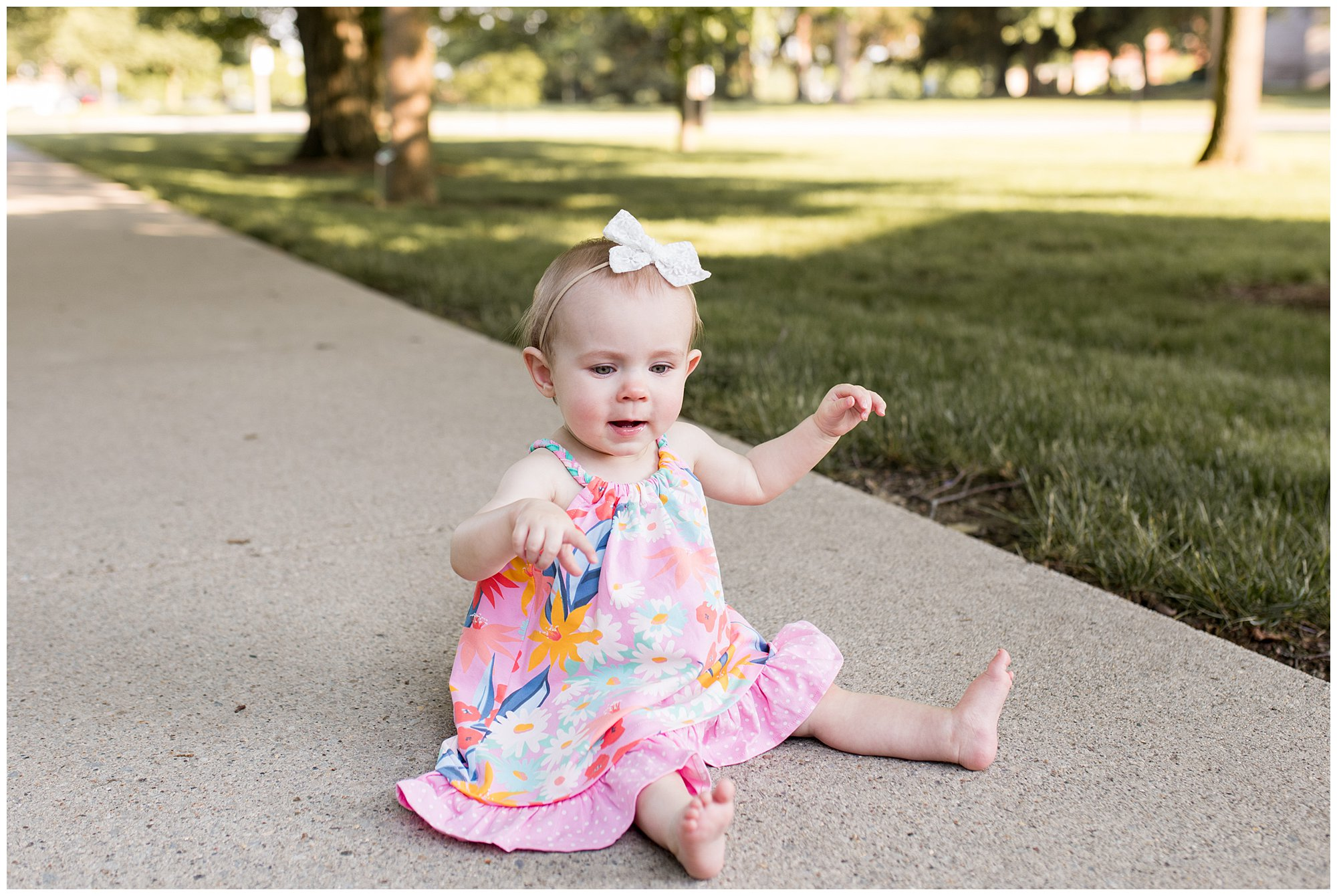 Ball State University family session