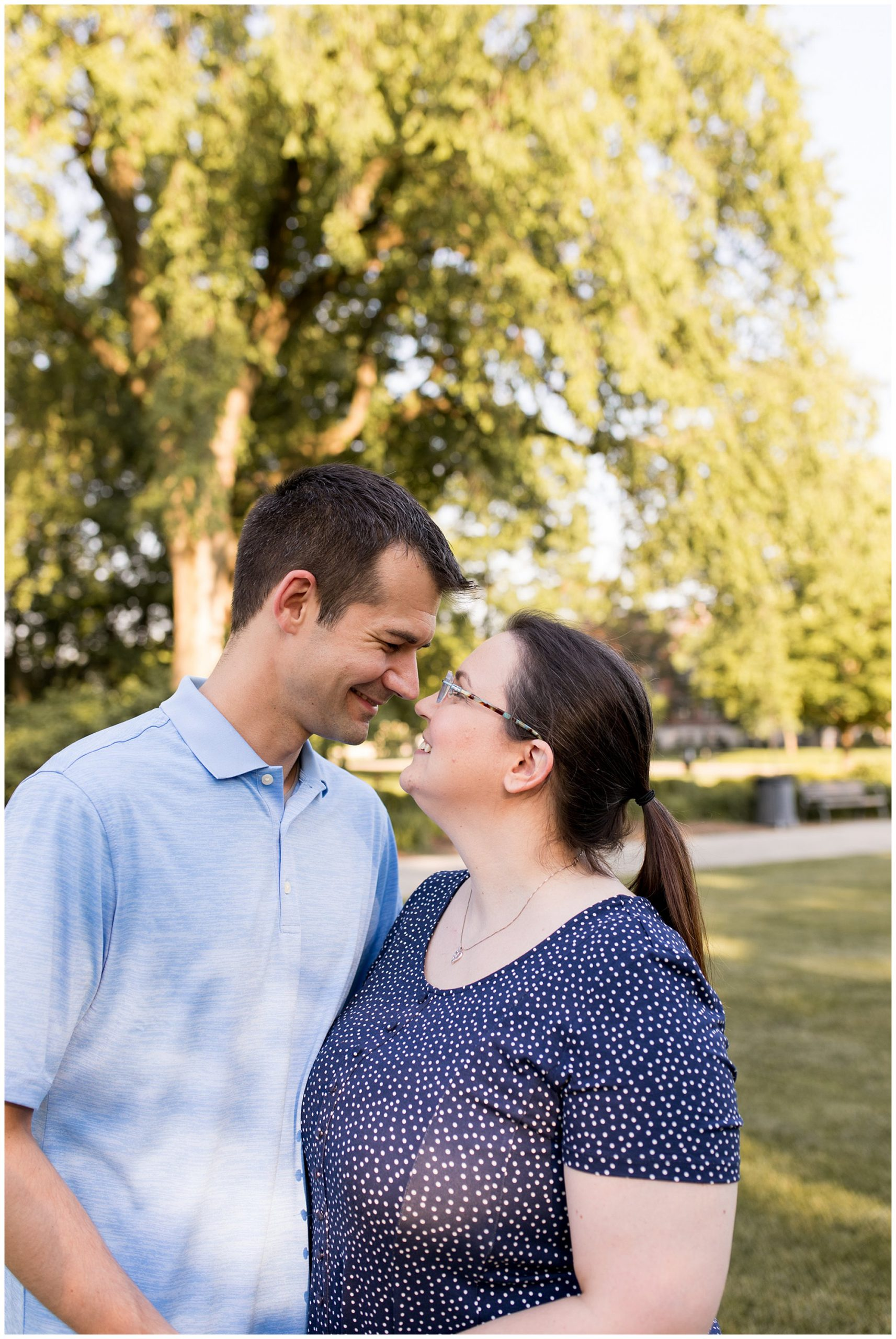 Ball State University family session in Muncie, Indiana