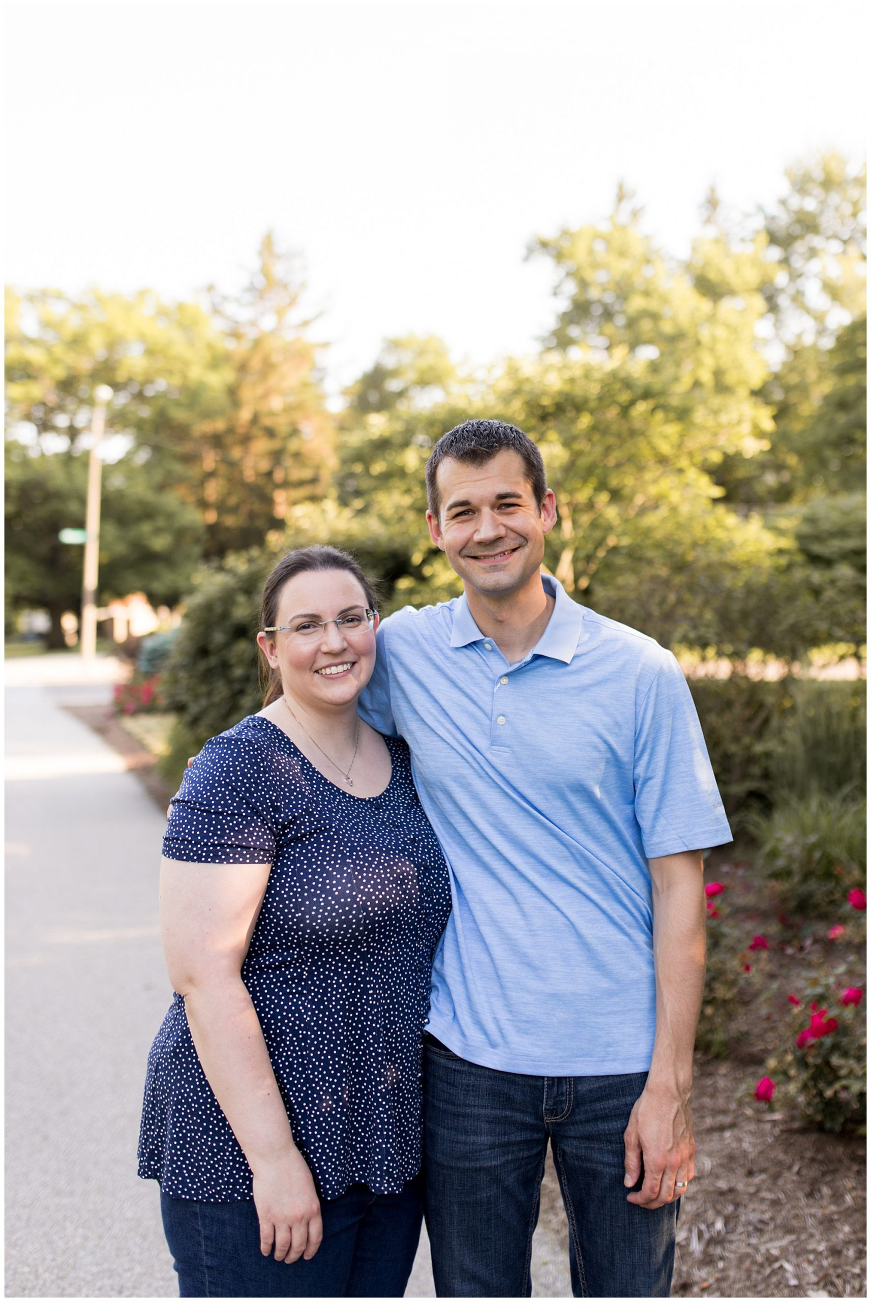 Ball State University family session in Muncie Indiana