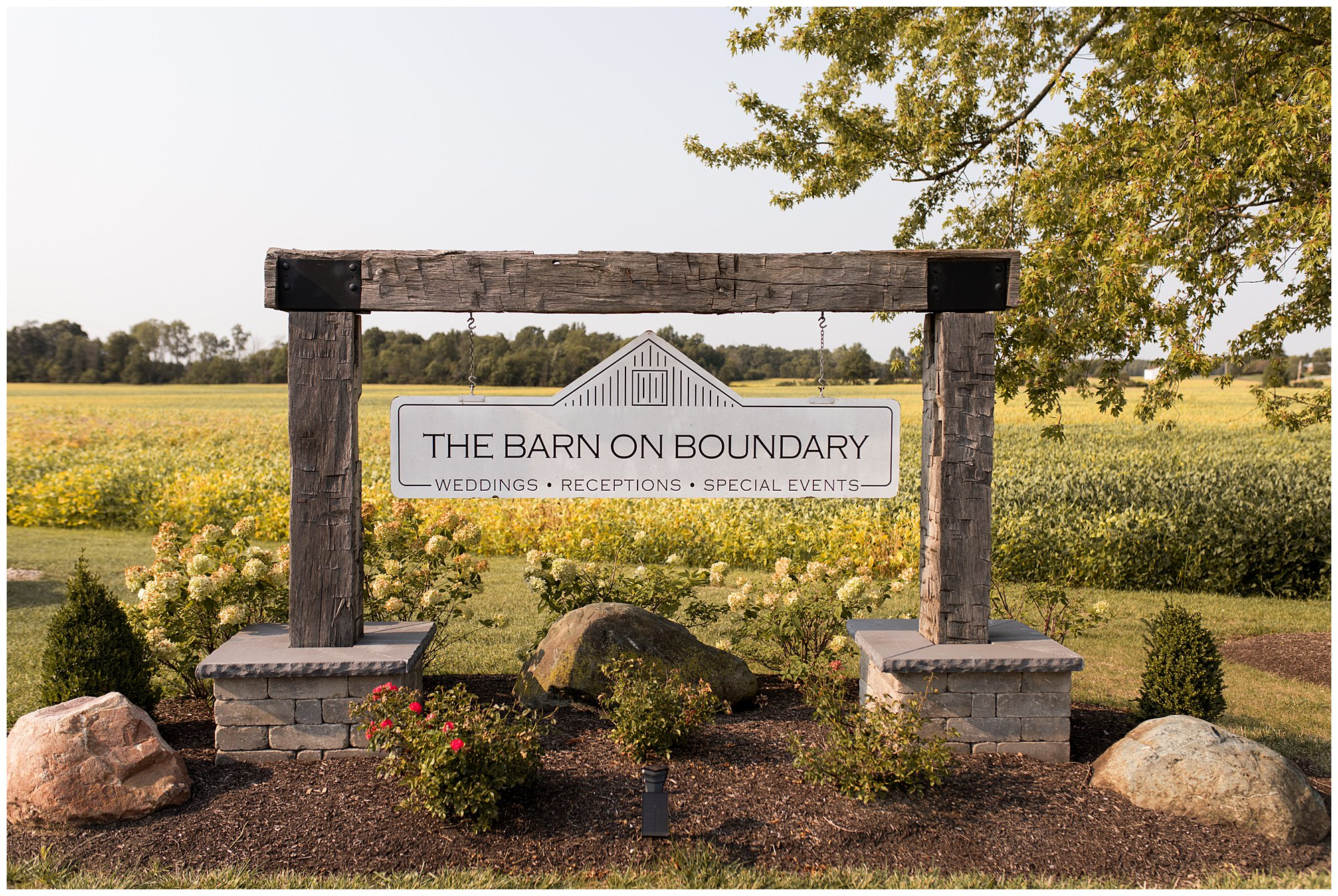 The Barn on Boundary in Eaton Indiana