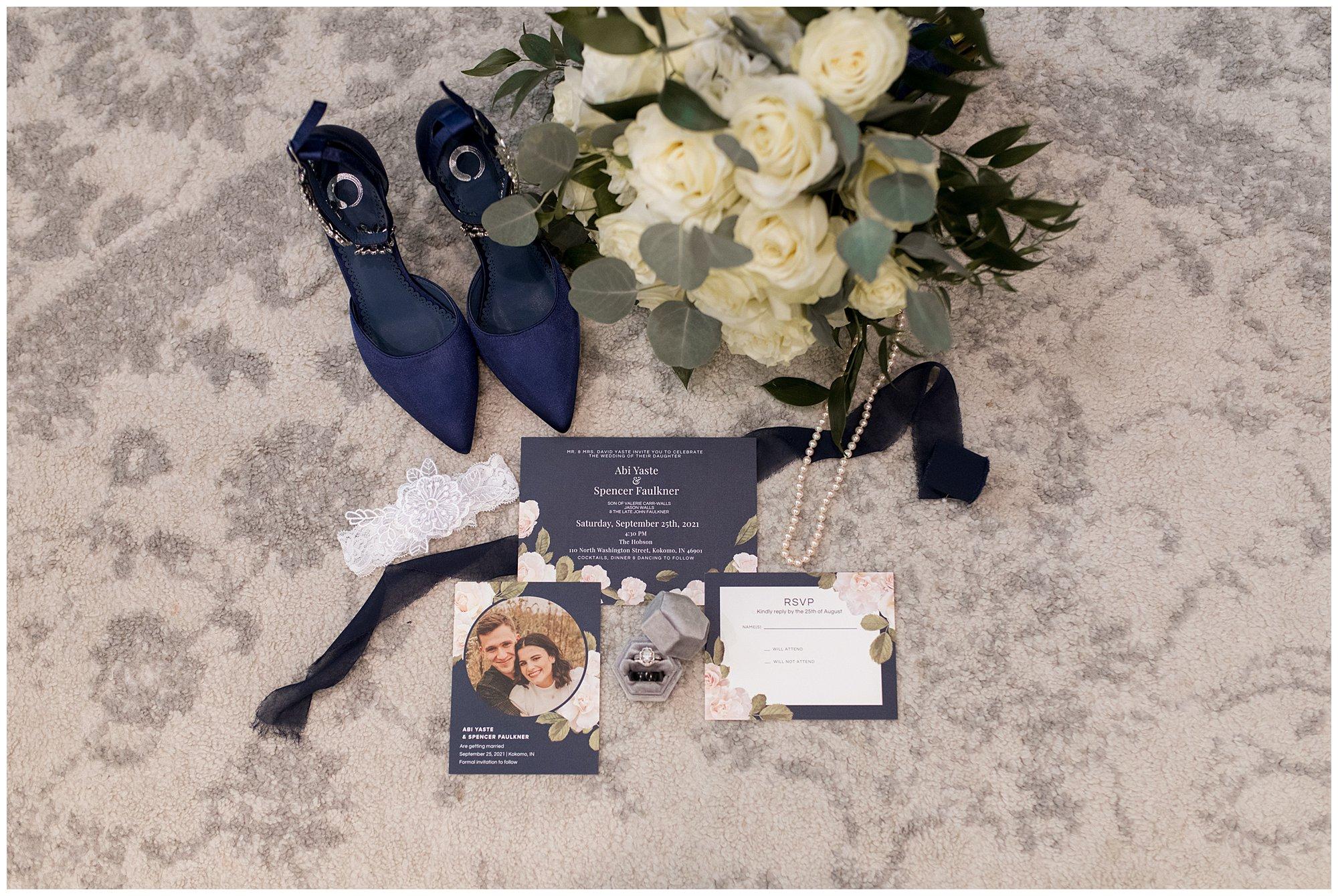 wedding details at The Hobson Kokomo