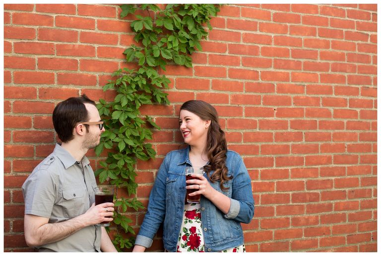 LaOtto Brewery Fort Wayne engagement session